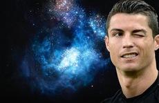 Cristiano Ronaldo 'xuất hiện' ở dải thiên hà
