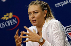 Sharapova rút lui khiến Giải Mỹ mở rộng kém hấp dẫn