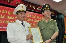 Giám đốc Công an TP HCM được thăng hàm Trung tướng