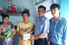 Hỗ trợ gia đình công nhân khó khăn