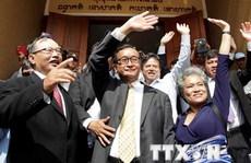 Phe đối lập Campuchia ngừng công kích về vấn đề biên giới Việt Nam