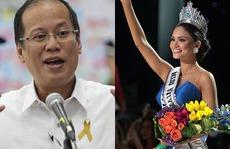 """Tân """"Hoa hậu Hoàn vũ"""" bị đồn hẹn hò Tổng thống Philippines"""