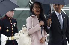 Con gái lớn nhà Obama chuẩn bị vào Harvard