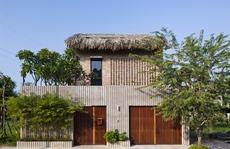 Ngôi nhà gạch mộc, mái lá của vợ chồng kiến trúc sư