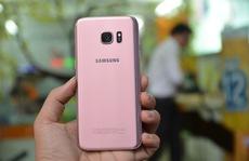 Galaxy S7 edge phiên bản hồng vàng ra mắt