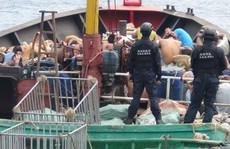 Đài Loan bắt tàu cá Trung Quốc