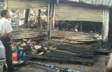 Cháy trung tâm thương mại tại Khu Du lịch Núi Sam