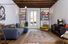 Nhà đẹp với nội thất giản dị