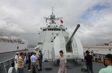 Mỹ dồn dập tập trận hải quân