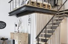 Căn hộ 25m² có gác xép thiết kế đầy ấn tượng