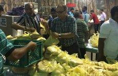 Ấn Độ gửi đồ ăn cho 10.000 công nhân sắp chết đói ở Ả Rập Saudi