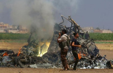 Syria: Khí độc bị thả gần hiện trường bắn hạ trực thăng Nga