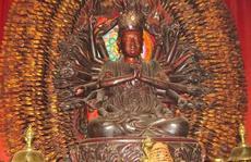 Bất ngờ tìm thấy pho tượng Phật nghìn tay nghìn mắt
