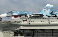Nga: Tiêm kích Su-33 rơi khi hạ cánh trên tàu sân bay