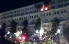 Cháy tại tòa nhà Union Square ở phố đi bộ Nguyễn Huệ