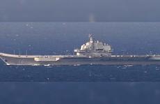 """Trung Quốc: Máy bay Nhật muốn chiêm ngưỡng """"vẻ đẹp tàu sân bay"""""""