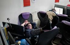 Tiệm internet cho người vô gia cư ở New York