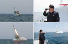 Triều Tiên 'phóng tên lửa từ tàu ngầm'