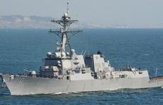 Mỹ phái khu trục hạm tuần tra biển Đông
