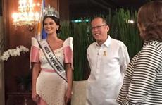 Tân Hoa hậu Hoàn vũ gặp Tổng thống Philippines