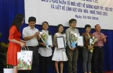 Nghệ sĩ chúc mừng Báo Người Lao Động đoạt giải báo chí VH-NT