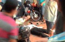Liều lĩnh đập tủ kính tiệm vàng, thanh niên bị đánh bất tỉnh
