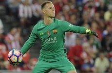Stegen lập kỷ lục trong ngày bắt chính cho Barca