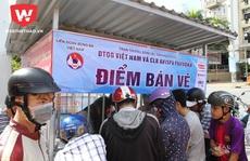 Ngày đầu mở bán, CĐV miền Tây mua sạch 6.000 vé xem tuyển Việt Nam