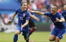Modric giúp Croatia hạ Thổ Nhĩ Kỳ