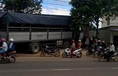 Xe tải chạy khi không người lái gây náo loạn trên đường