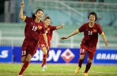 Nữ Việt Nam tranh cúp với Thái Lan