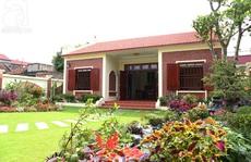 Ngắm ngôi nhà vườn xanh mướt ở Nam Định