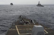 Hai hạm đội Mỹ bao sân châu Á