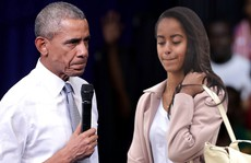Tổng thống Obama nổi giận vụ con gái 'hút cần sa'