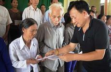 1.800 suất quà từ Vinamilk đến vùng lũ Hà Tĩnh và Quảng Bình