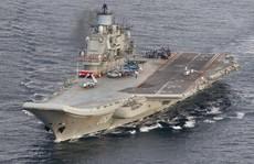 Đội tàu sân bay Nga định 'dứt điểm Aleppo'