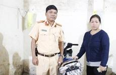 CSGT giúp dân tìm lại xe máy bị mất trộm