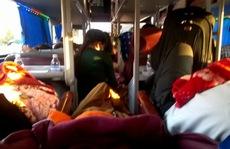 Phục kích bắt 9 xe nhồi nhét khách vào Nam