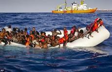 Hơn 400 người di cư chết đuối trên Địa Trung Hải