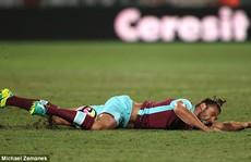4 năm, Carroll chấn thương 15 lần