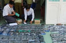 Đột kích Công ty Đại An Khang phát hiện lô máy tính giả