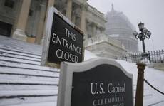 Chính phủ Mỹ đóng cửa vì bão tuyết