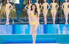 Ngắm 36 thí sinh Hoa hậu VN nóng bỏng với bikini
