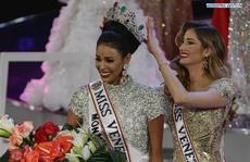 Cận cảnh nhan sắc Tân Hoa hậu Venezuela