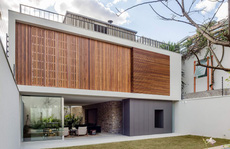 Ngôi nhà có 2 khu vườn và sân thượng hoàn hảo