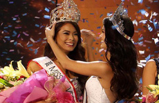 Cận cảnh nhan sắc Tân Hoa hậu Hoàn vũ Philippines