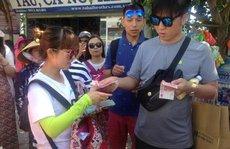 Trao đổi tràn lan tiền Trung Quốc
