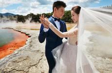 Ngô Kỳ Long và Lưu Thi Thi tung ảnh cưới ngọt ngào