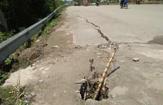 Lún, nứt nghiêm trọng tại dự án đường trăm tỉ