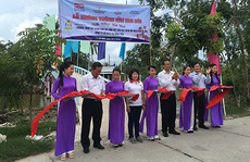 Đại Đồng Tiến góp tiền xây cầu cho xã Khánh Hòa